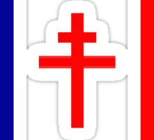 Free French Forces T-Shirt Sticker