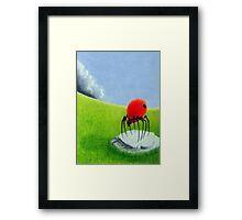 Storm Comming Framed Print