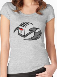 Frakking Toasters Women's Fitted Scoop T-Shirt