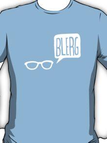 White Blerg T-Shirt