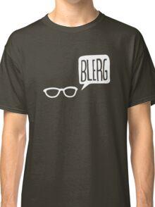 White Blerg Classic T-Shirt