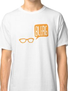 BLERG ORANGE! Classic T-Shirt
