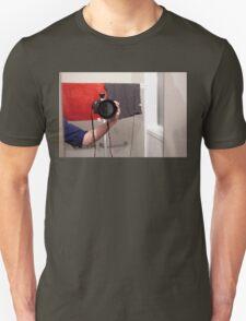 Mystery Photographer Unisex T-Shirt