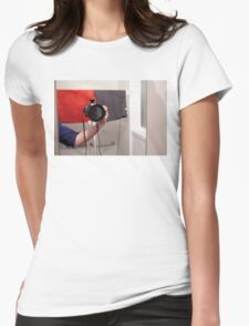 Mystery Photographer Womens Fitted T-Shirt