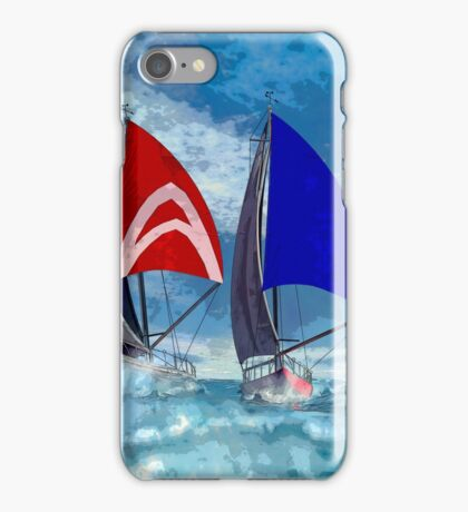 Racing home iPhone Case/Skin