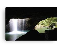 Earth, Water and Rock Canvas Print