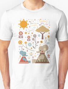Elephant Tea Party Unisex T-Shirt