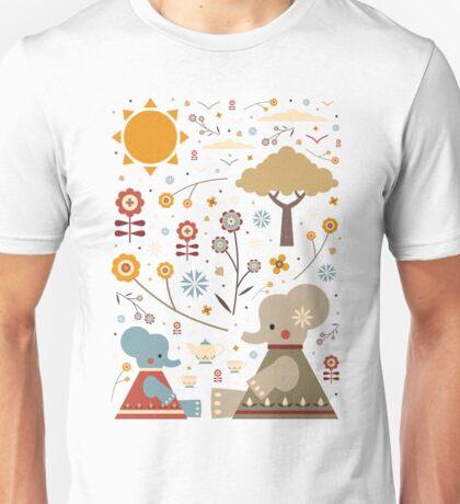Elephant Tea Party T-Shirt