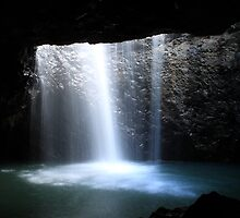 Cave Waterfall by Truenature