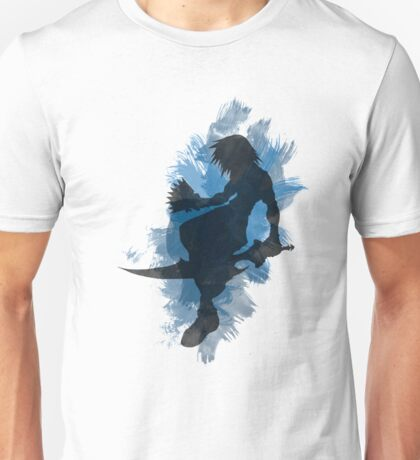 Kingdom Hearts: Watercolor Riku Unisex T-Shirt