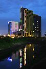 The Kuningan Place (by night) by Property & Construction Photography