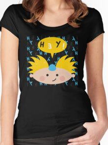 Hey! Arnold Women's Fitted Scoop T-Shirt