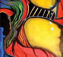 Hooded Figure by Roy Guzman