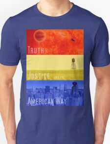 Truth, Justice, and the American Way T-Shirt