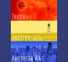 Truth, Justice, and the American Way Unisex T-Shirt