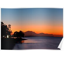 Sunset at Hervey Bay Poster