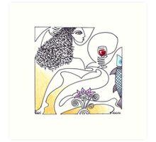 The Crush: The Wine Series Art Print