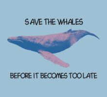 Save the whales One Piece - Short Sleeve