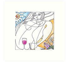 Single Varietal: The Wine Series Art Print
