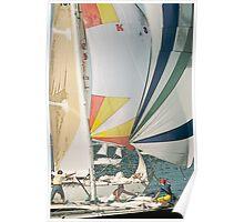 Racing yachts Poster