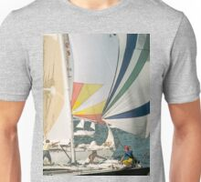 Racing yachts Unisex T-Shirt