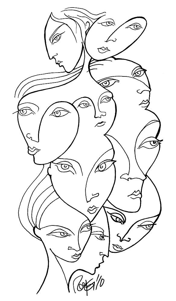 Faces by Roy Guzman