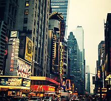 Times Square - The Crossroads by Vivienne Gucwa
