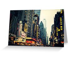 Times Square - The Crossroads Greeting Card