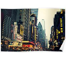 Times Square - The Crossroads Poster