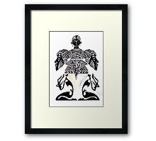 Altar Dancers Framed Print