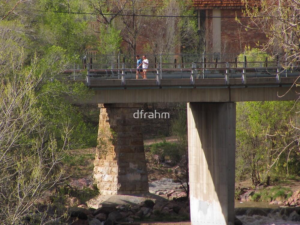 """""""Two Fellas In Fella-ship On The Bridge"""" by dfrahm"""