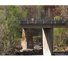 """Two Fellas In Fella-ship On The Bridge"" Photographic Print"