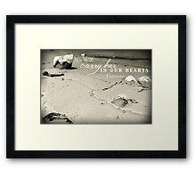 Carry Her Framed Print