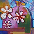 Funky Flowers by Artden
