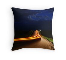 I`ll take  the back road  Throw Pillow