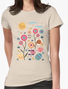 Easter Egg Hunt  Womens Fitted T-Shirt