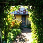 Ackerman's Cottage - Hill End, New South Wales by Marilyn Harris