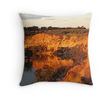 Paringa Cliffs. South Aust. Throw Pillow