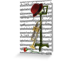 Play that Jazz.. Greeting Card