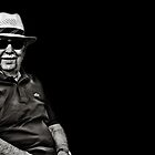 Faces of Venice - The Lawn Bowls Player by Luke Griffin