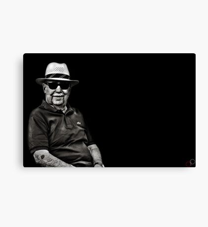 Faces of Venice - The Lawn Bowls Player Canvas Print