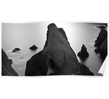 Sea Stacks at Nohoval Cove Poster