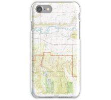 USGS Topo Map Oregon Sprague River East 281584 1998 24000 iPhone Case/Skin