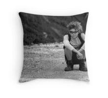 Young Exoplorer Throw Pillow