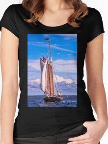 Sailor's Serenity Women's Fitted Scoop T-Shirt