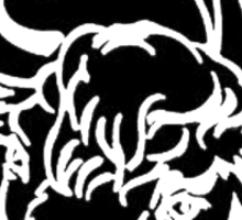Black Bull Sticker