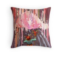 """Stage Fright""  Throw Pillow"