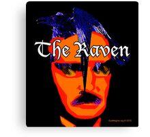 Edgar Allan Poe: The Raven Canvas Print