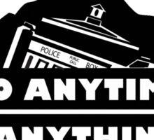 Jeep Tardis Sticker