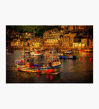 At Looe Photographic Print
